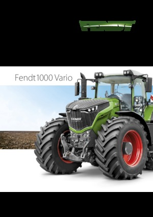 Trattrici agricole - trazione a 4 ruote Fendt 1046 Vario
