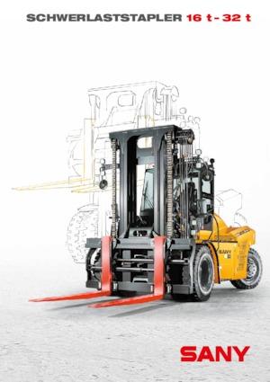 Carrelli elevatori frontali diesel Sany SCP160G