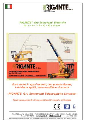 Gru semoventi industriali Rigante GR 50