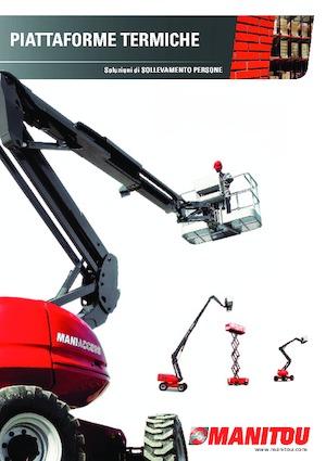 Piattaforme aeree verticali a pantografo su ruote Manitou 100 SC